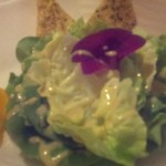 Bibb lettuce, vine ripe tomatoes, chopped eggs, focaccia croutons, orange champagne dressing