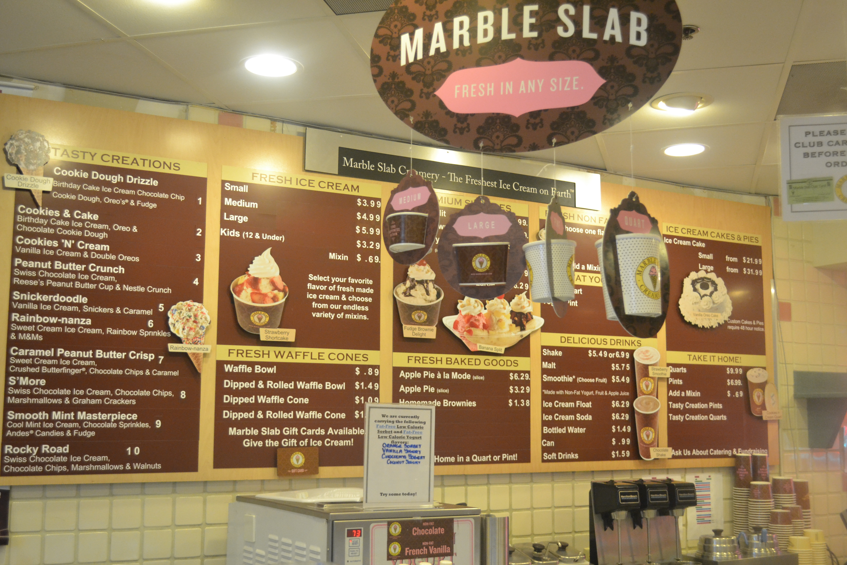 Ideal Ending to Any Meal – Marble Slab Creamery – The ...