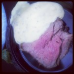 Steak with Bearnaise Sauce - Ruth Chris Steakhouse