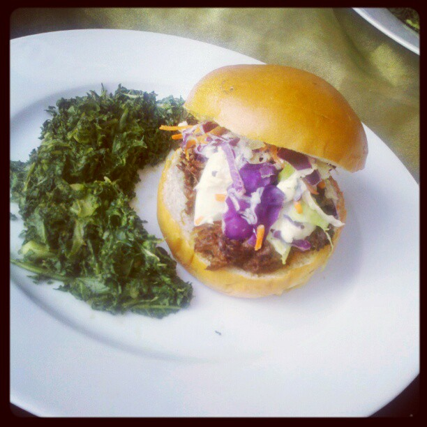 Bisson Sliders with Blue Cheese Slaw - Whole Foods