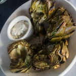 Wood Grilled Artichokes