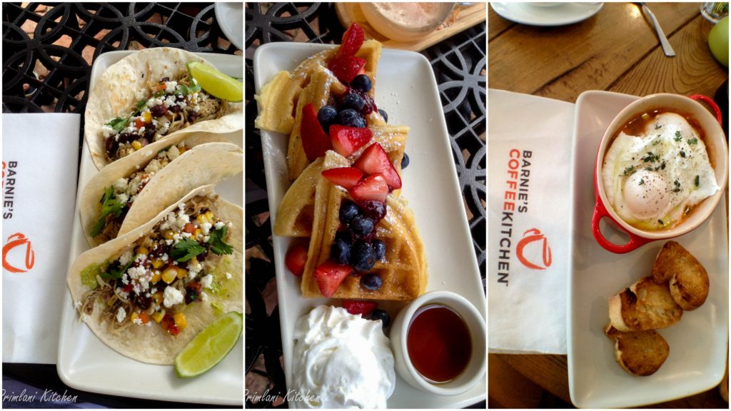 Barnie's Brunch Dishes