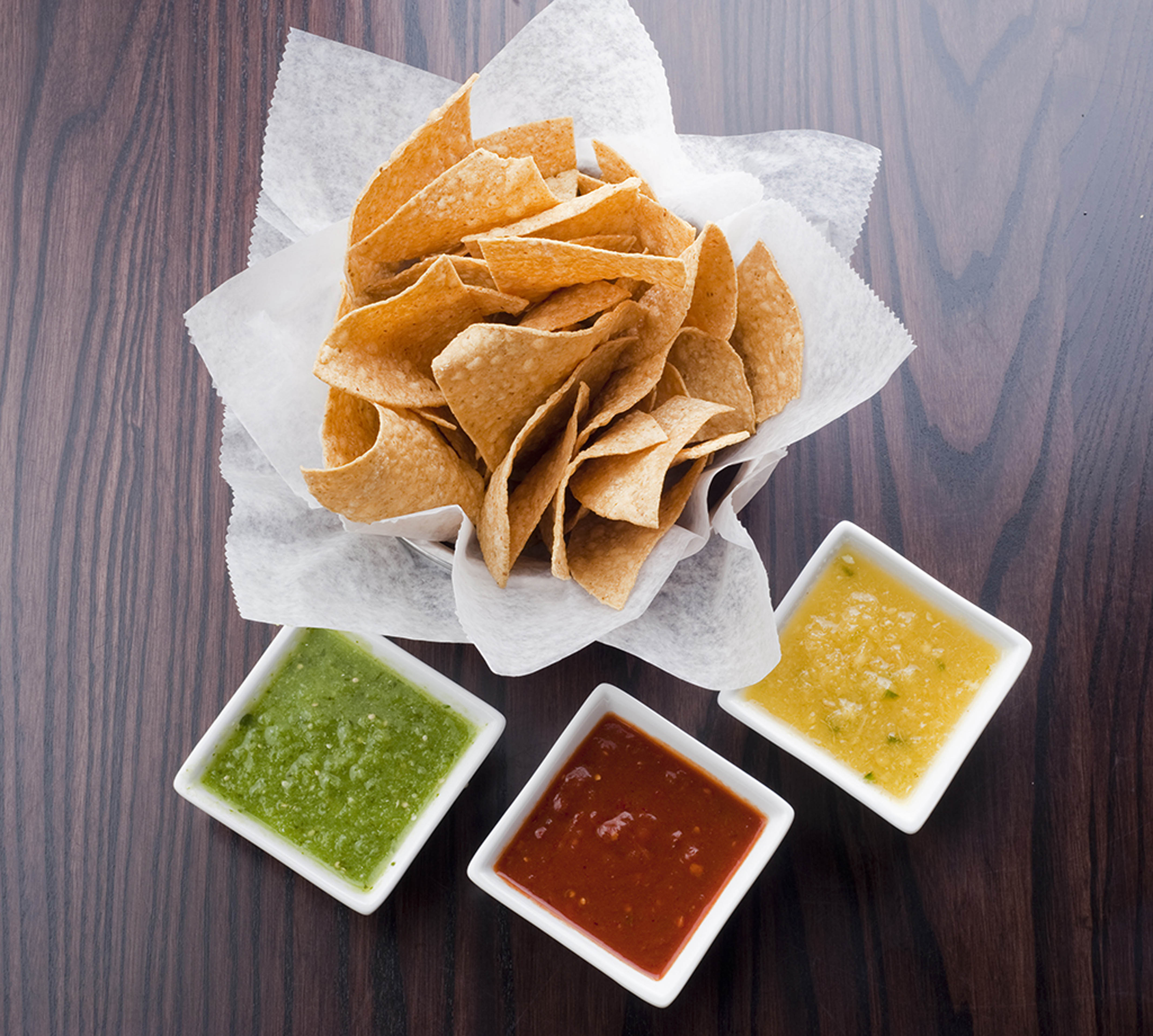 Cocina 214 Chips And Salsa Trio