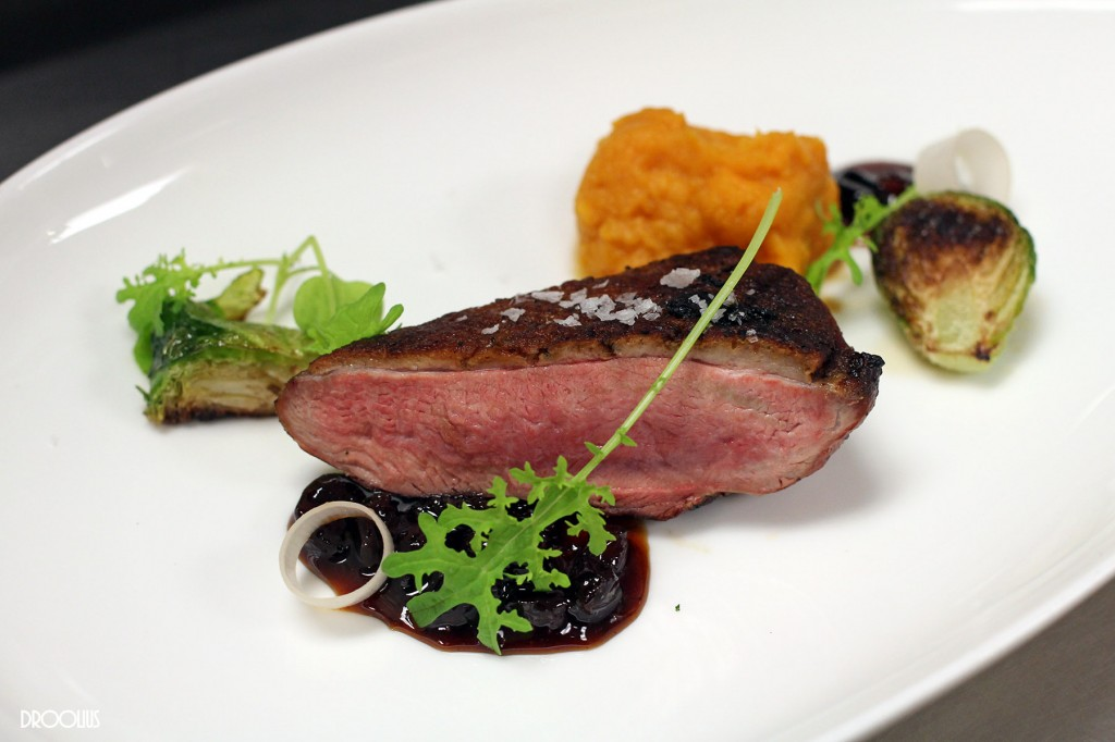 GRILL-ROASTED LAKE MEADOW FARMS DUCK BREAST