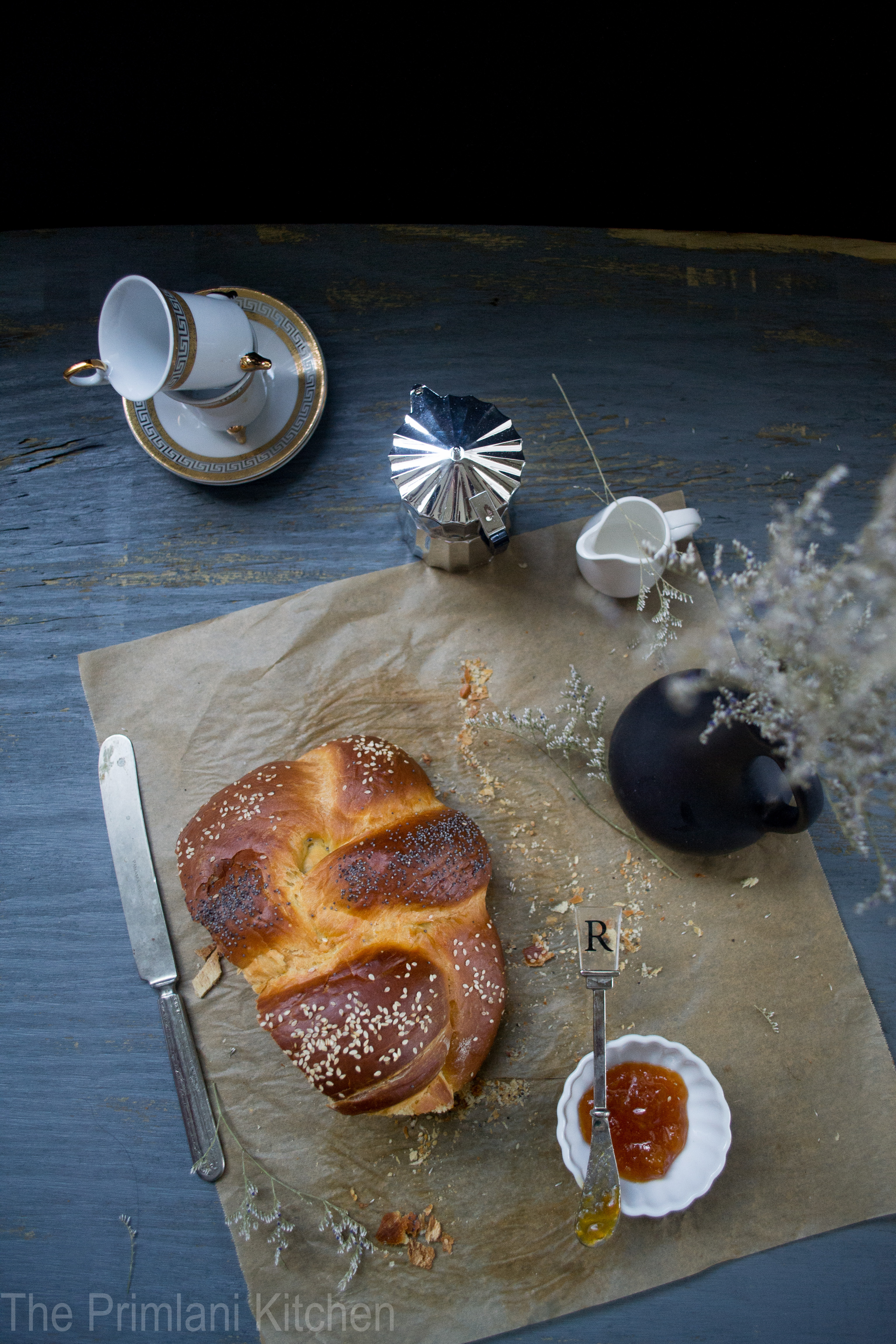 The braided Challah is so beautifully flavored that it doesn't make ...