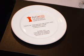 No Kid Hungry plate