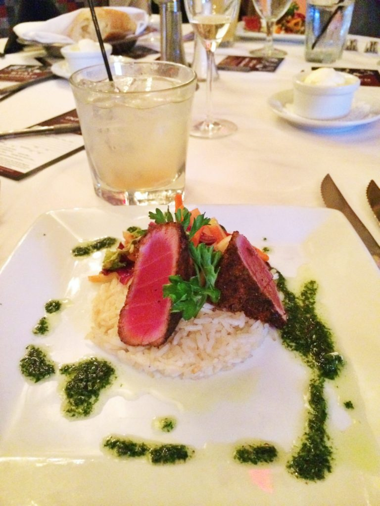 Seared Ahi Tuna Steak