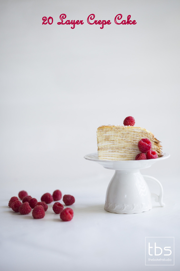 20 Layer Crepe Cake