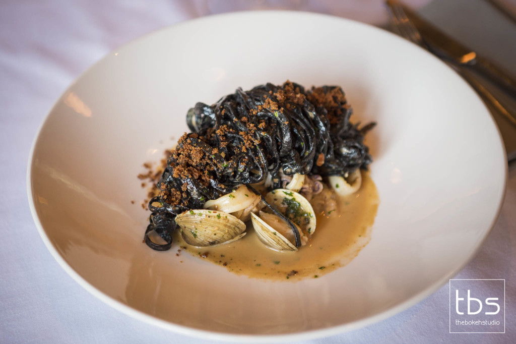 Squid Ink Linguine with Frutti di Mare