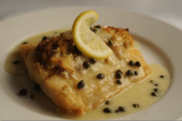 Halibut with Chablis