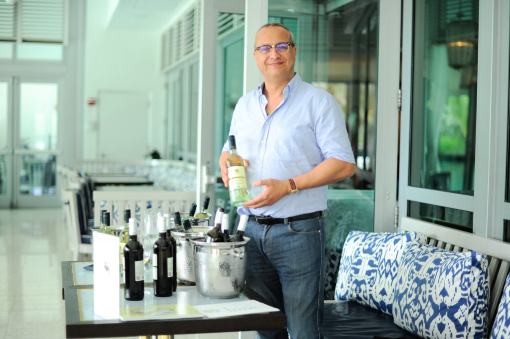 Photo: Kobrand Tour d'Italia 2015 wine tasting at Scarpetta restaurant in Fontainebleau Hotel Miami Beach, Florida. ( Photo by Sergi Alexander /EYEWORKSproduction.com #EYEWORKSprod) Copyright 2015 EYEWORKS Production. All rights reserved. This material may not be published, broadcast, rewritten or redistributed. Contact for image licensing.