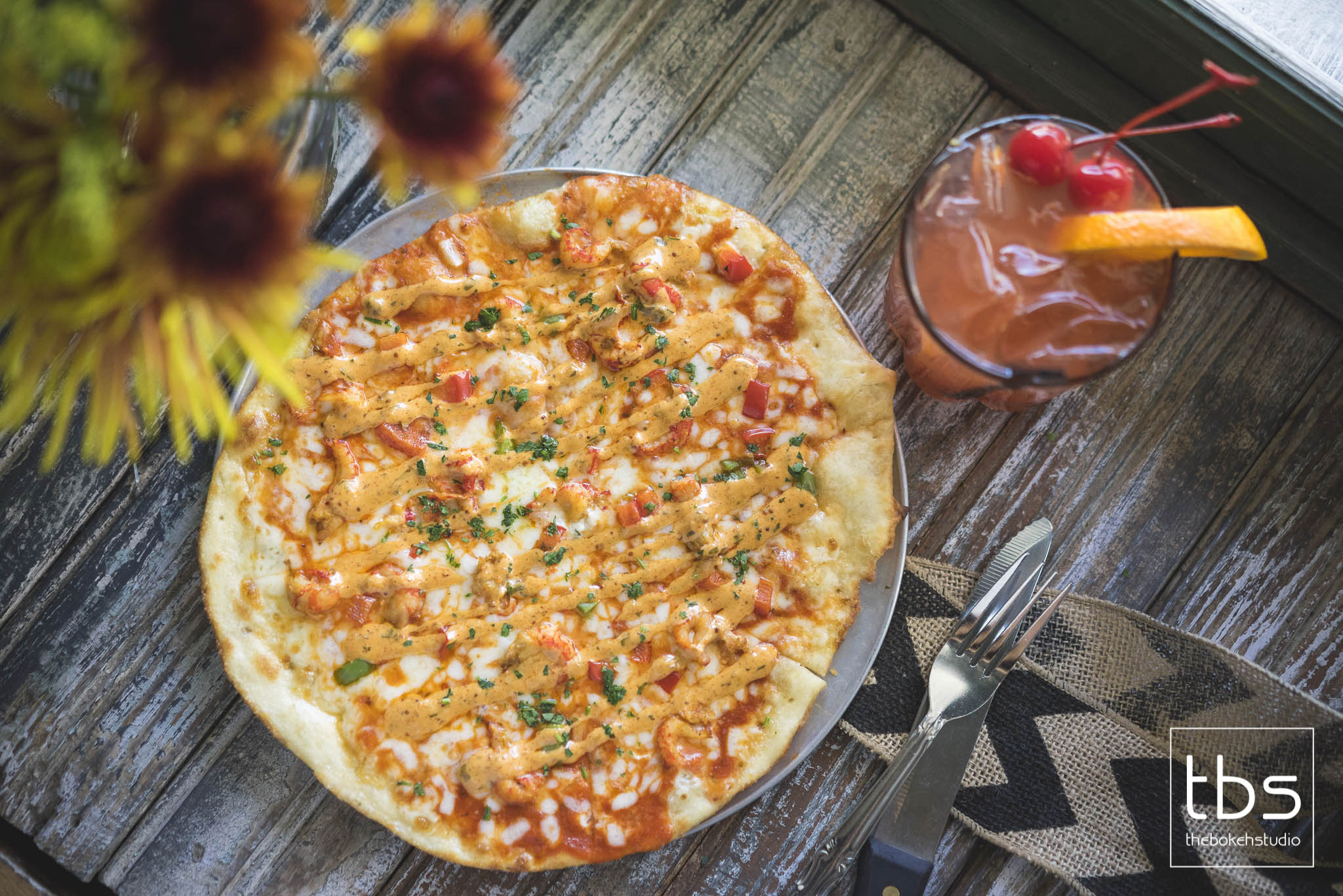 Crawfish Pizza
