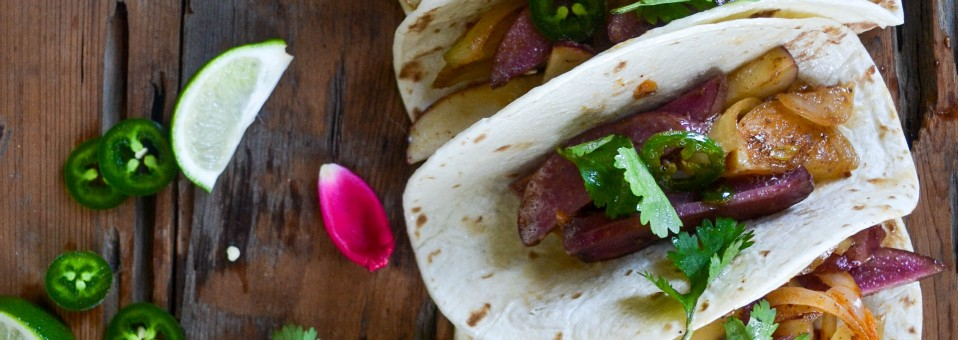 Simple, Satisfying, Stimulating: Chorizo, Red Potatoes, & Jalapeno Tacos!