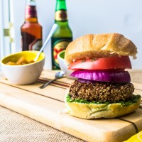 #SpicyChat Tribute to Fusion Cuisine: The Best Ever 'Vegetarian' Burger!