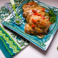 Chicken with Sweet & Spicy Orange Sauce: What's There Not to Love?