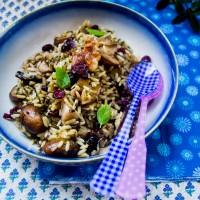 Wild Rice with Cranberries: #SpicyChat Holiday Favorite!