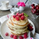 To Cook with 'Love': Lemon-Ricotta Pancakes with Raspberries for Mother's Day!